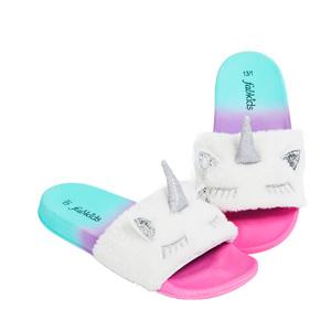 unicorn toddler sandals and slipons