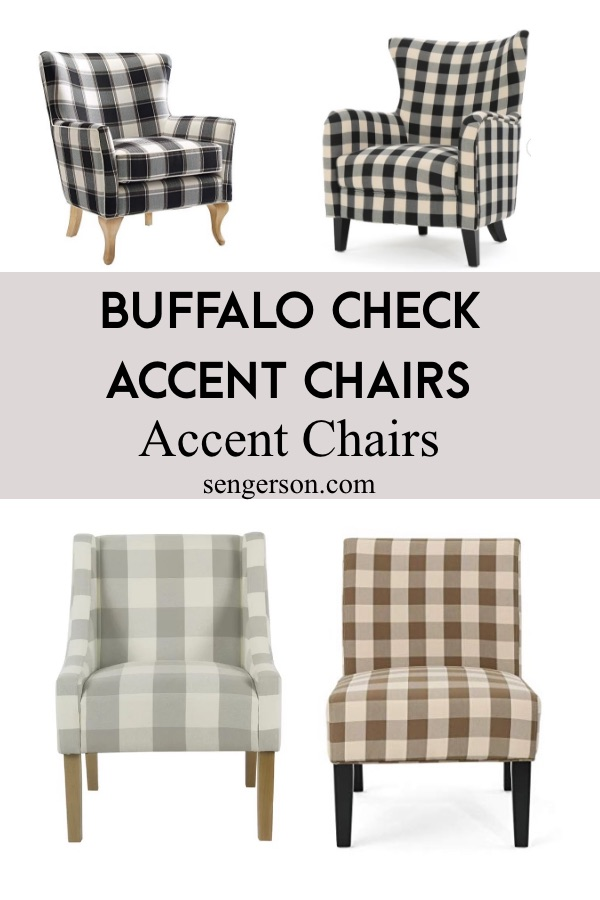 buffalo check for living room