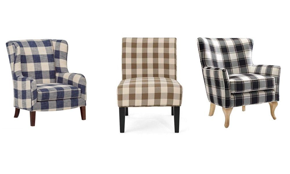 buffalo check chairs from review