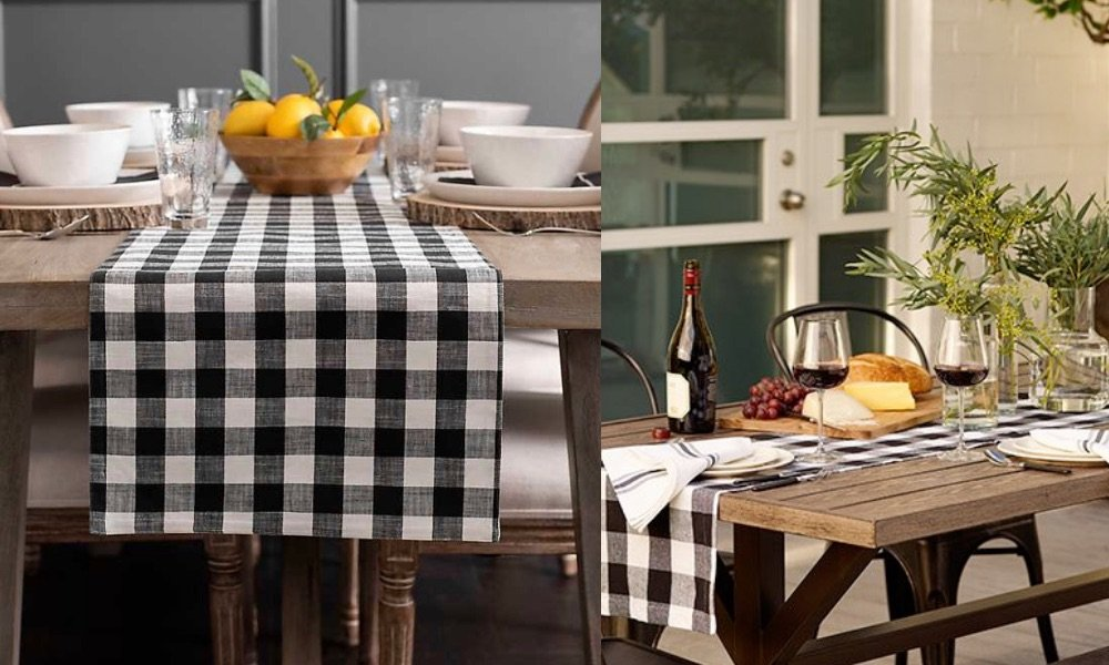 popular ways to use gingham in home