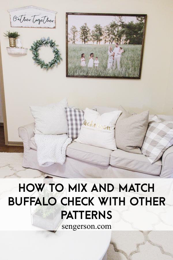 buffalo check decor