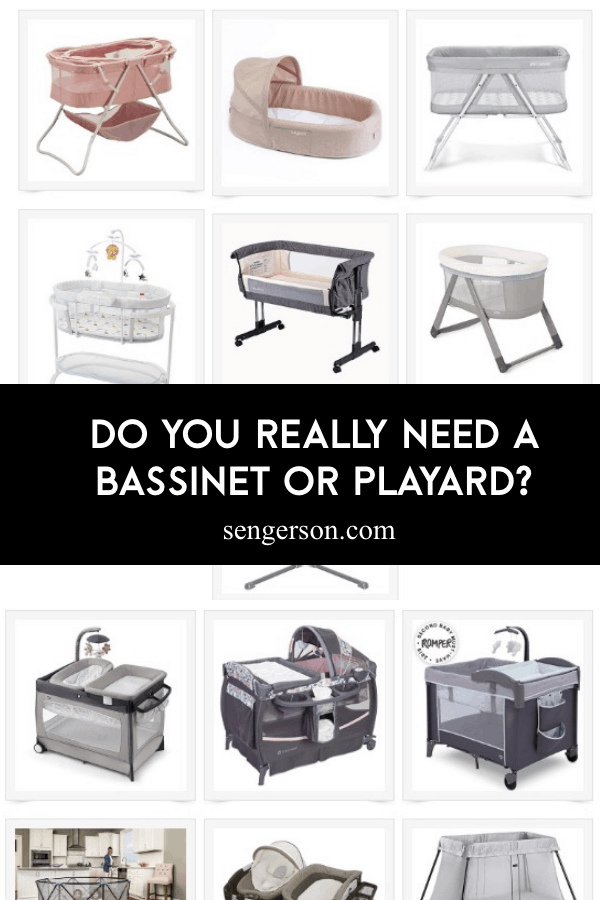 differences between bassinet and playard