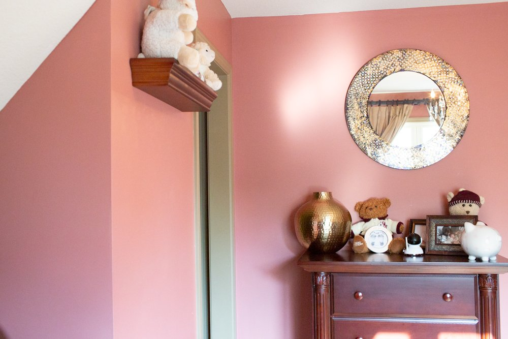 classic pink paint color that is elegant and sophisticated