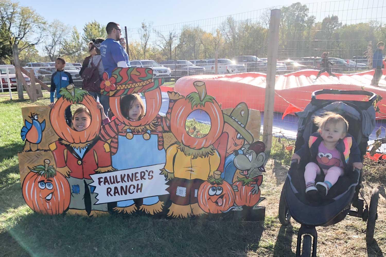 faulkner's pumpkin ranch - photoop