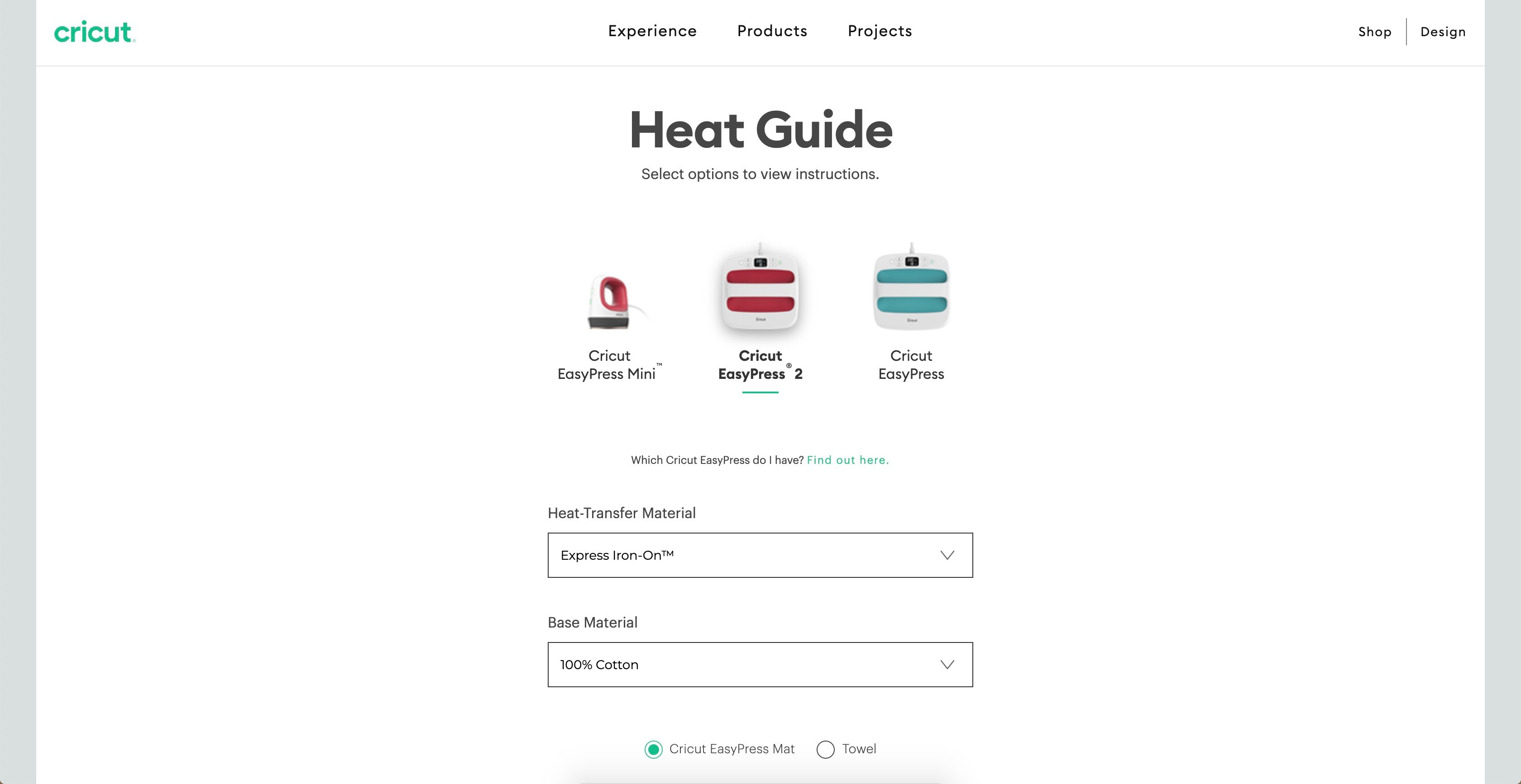 how to make a custom shirt with cricut heat guide