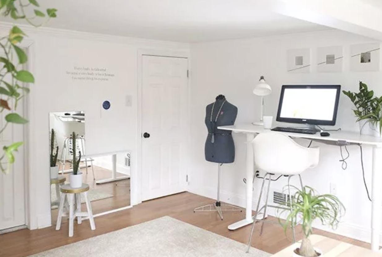 craft room standing desk