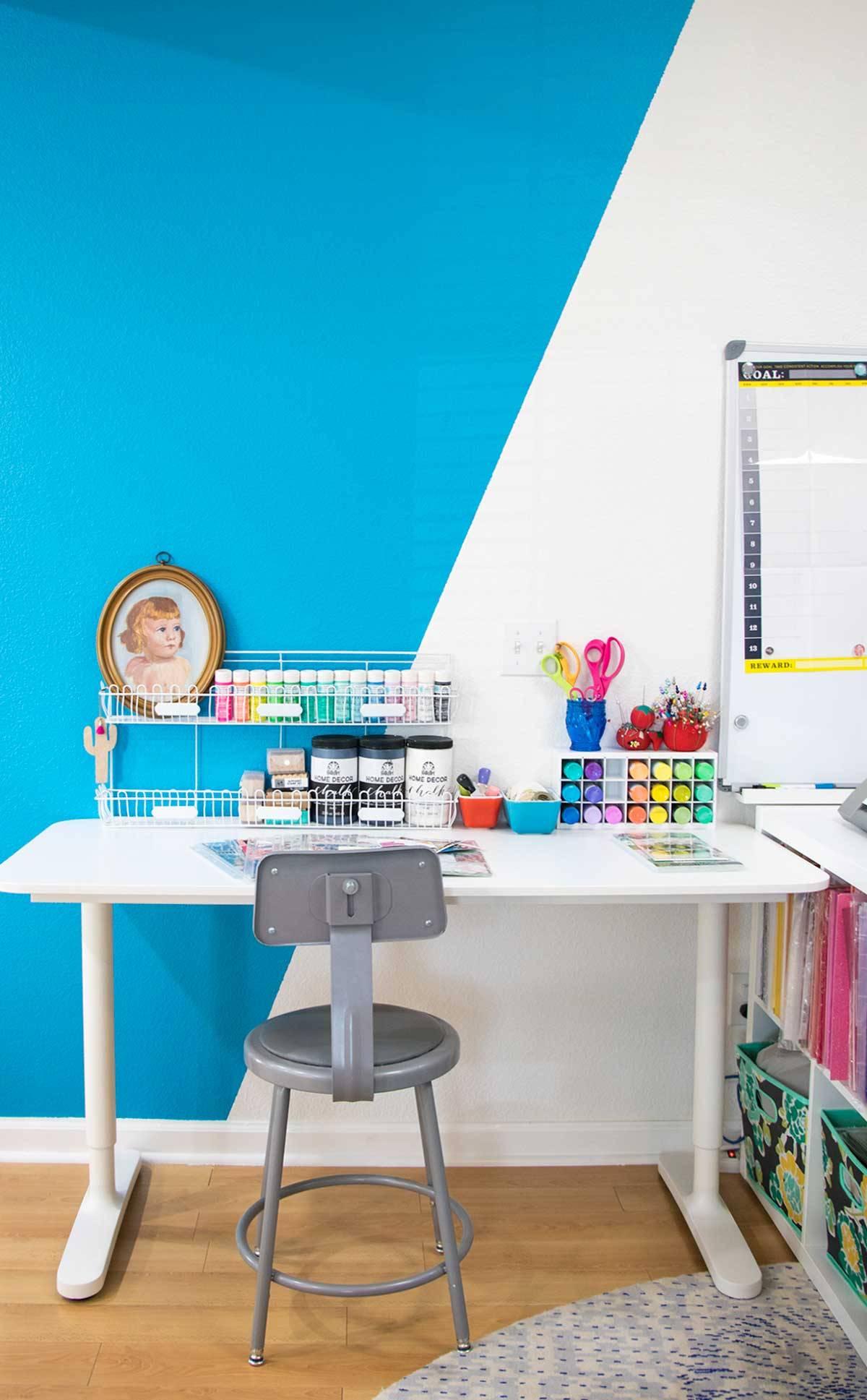 simple craft desk ikea