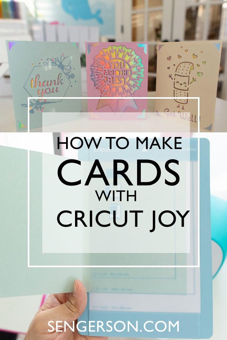 Cricut joy card inserts