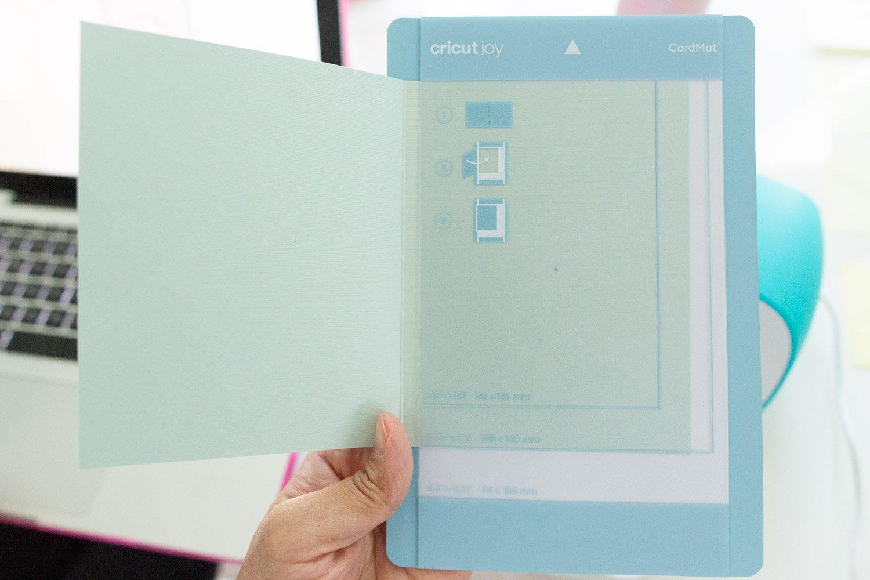 how to use a cricut joy insert cards with card mat