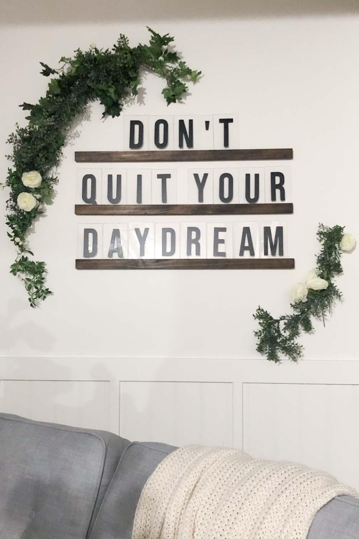 diy oversized letter board 041