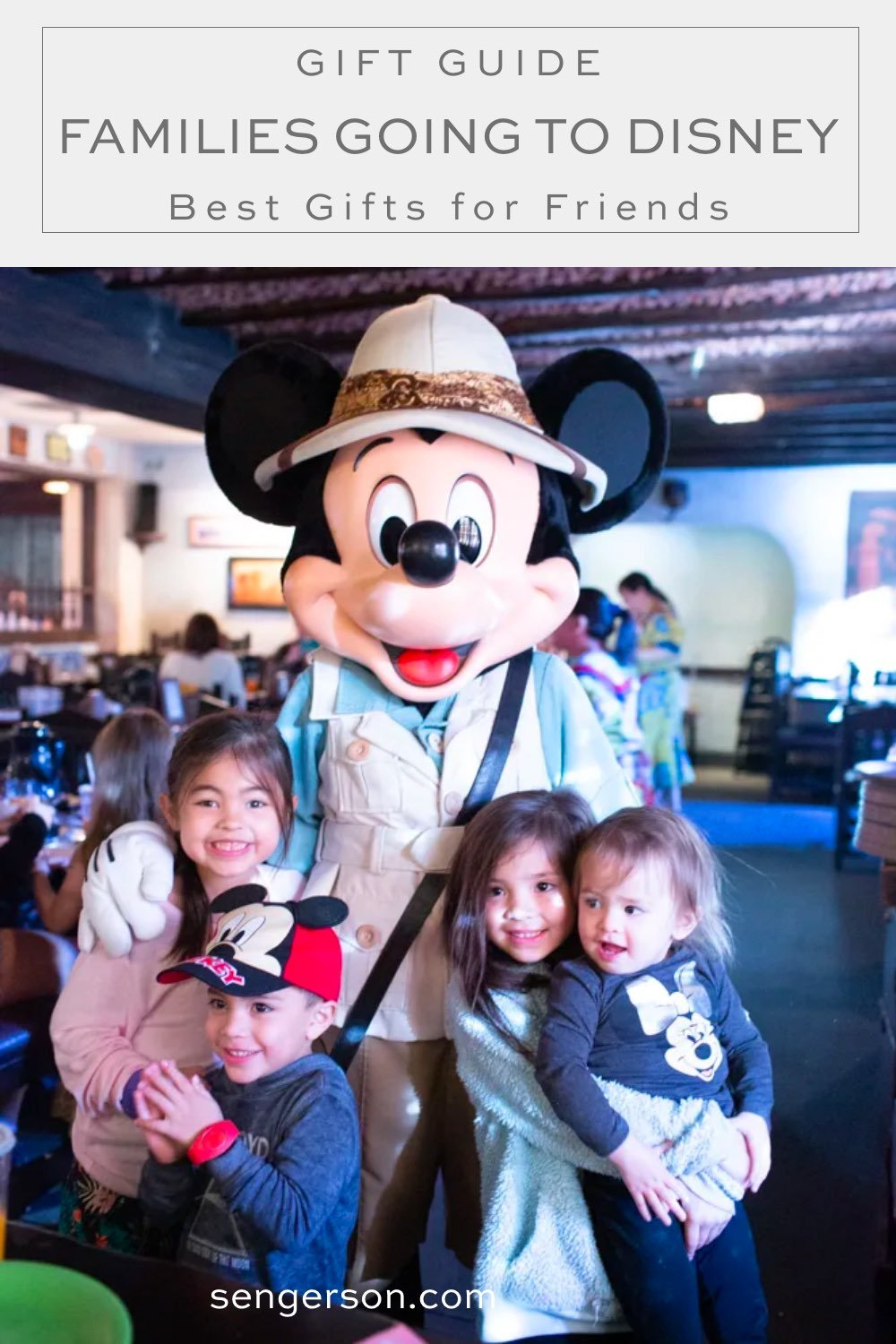 Disney gifts for disney bound families