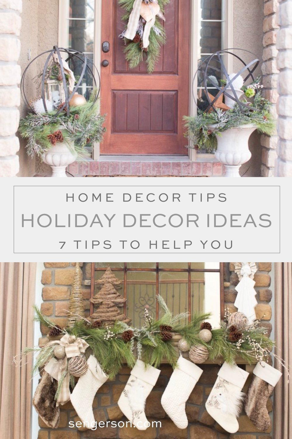 christmas and holiday decor tips