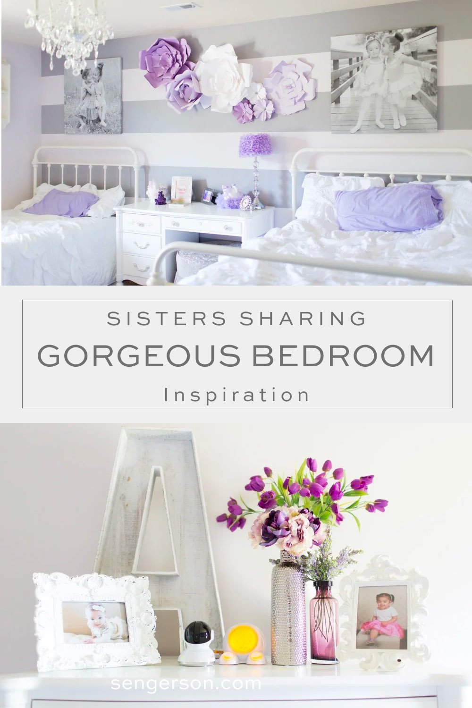 sisters sharing bedroom inspiration