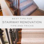 stiarway renovation tips and tricks