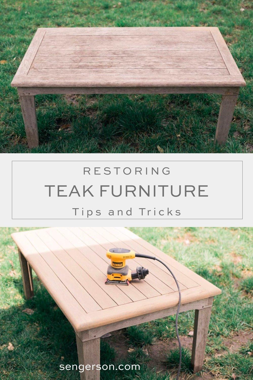 restore teak furniture