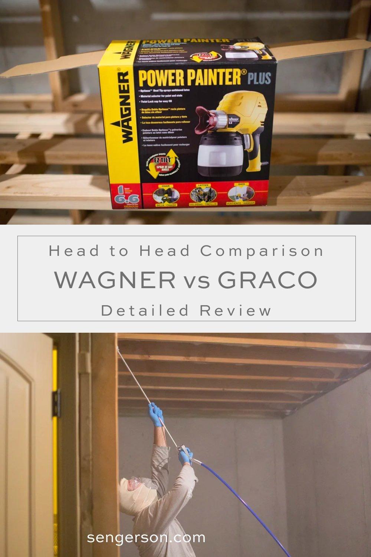 graco versus wagner paint
