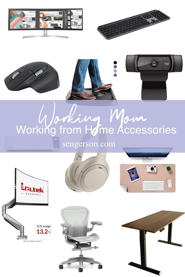 Remote office working from home gadgets