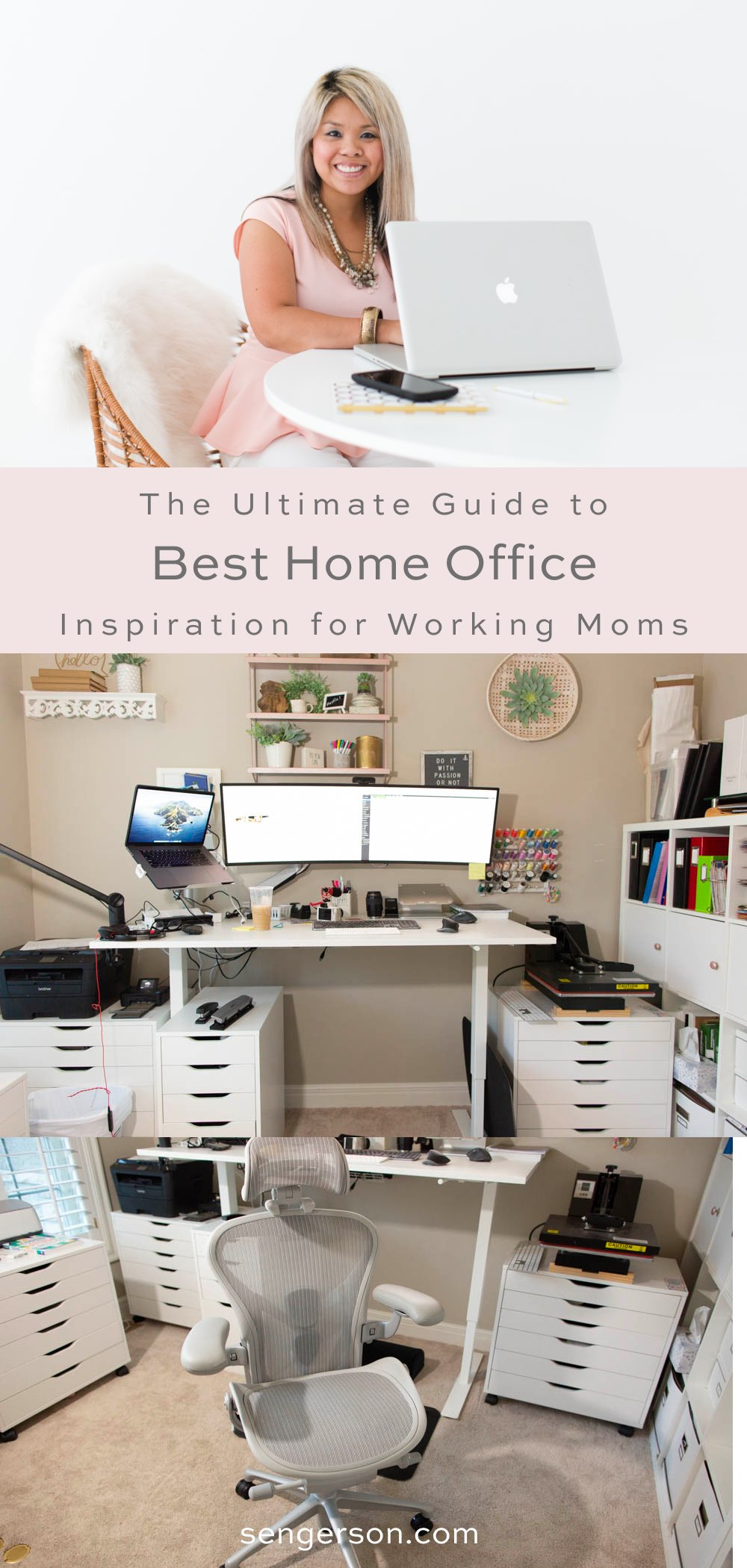 Working mom home office tips and tricks