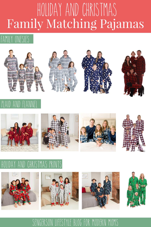 family matching pajama set