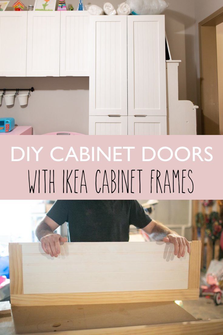 how to make your own cabinet fronts and doors for ikea cabinets sektion