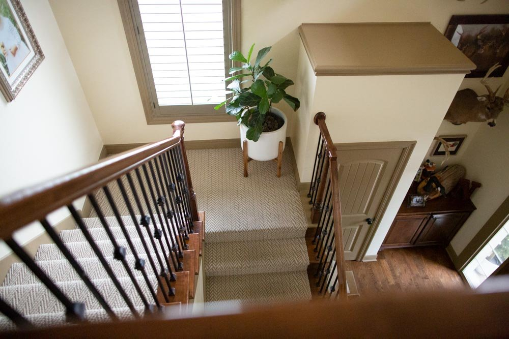tan trim interior paint for house