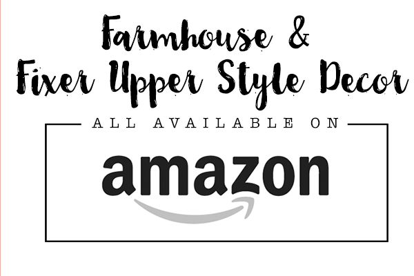 Fixer Upper Farmhouse Style from Amazon