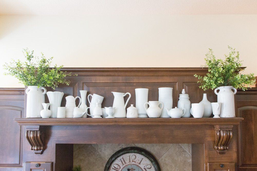 Collection of Farmhouse Pitcher Vase
