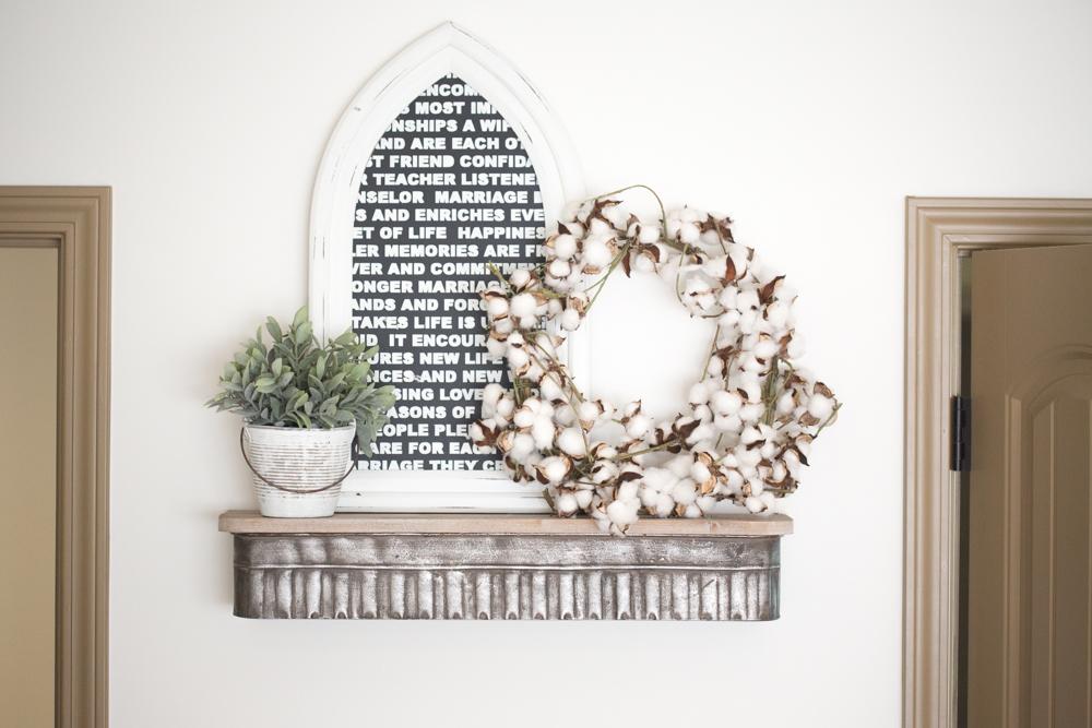 DIY Framed Wedding Vow Ideas