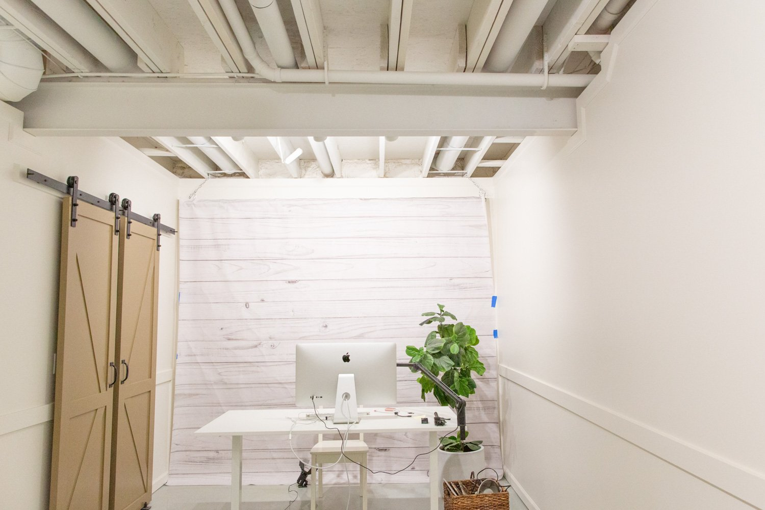 5 Considerations for an Exposed a Basement Ceiling and What Colors to Paint It