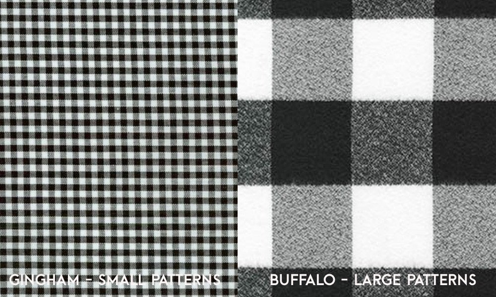 Buffalo Check vs Gingham Plaid (Differences Explained)