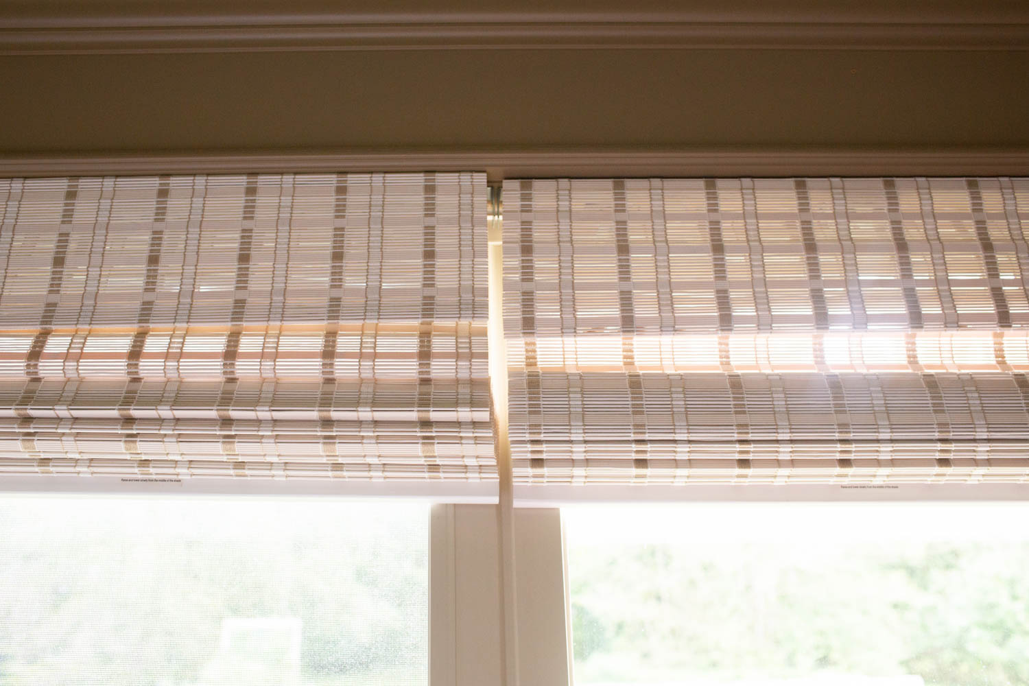 Affordable Whitewash Bamboo Roman Shades - Arlo Blinds Review: Are They Good Quality?