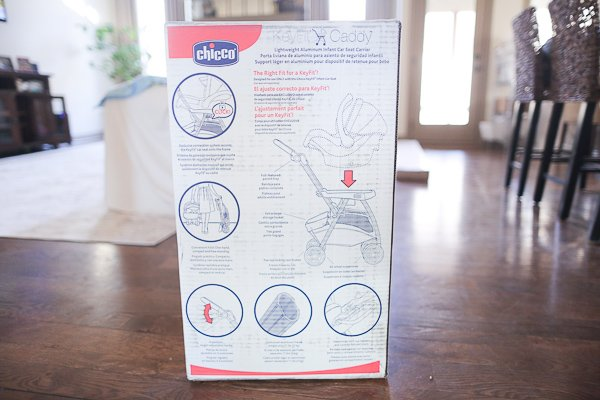 Chicco Keyfit Caddy Unboxing
