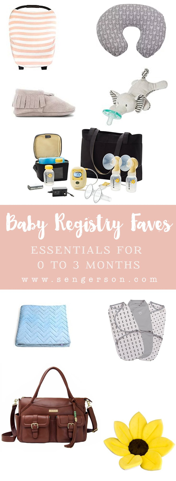 baby registry favorites 0 to 3 months