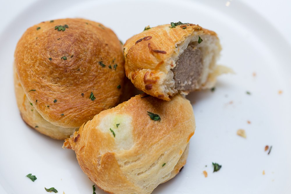 Meatballs Wrapped in Biscuits - delicious and easy recipe