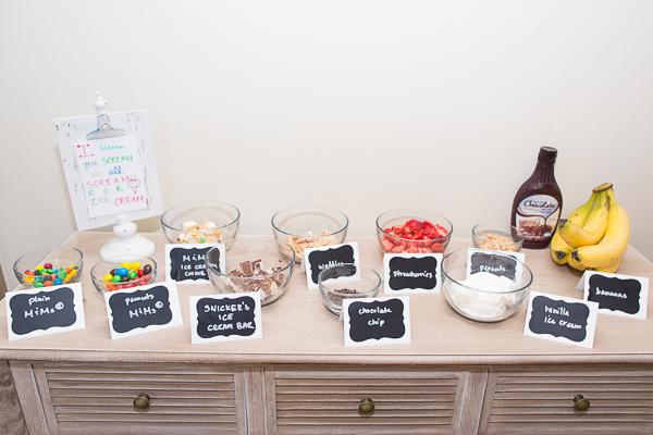 ultimate ice cream sundae buffet bar7