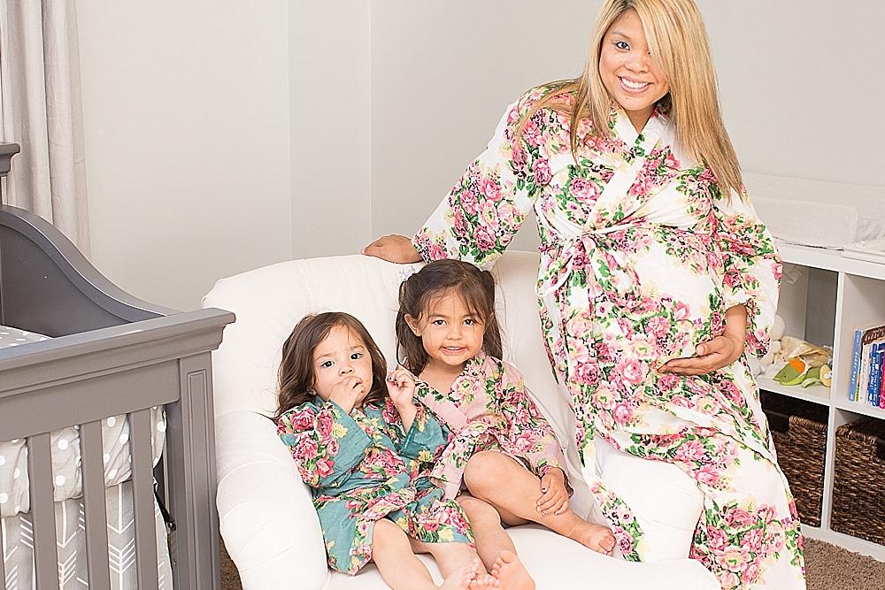beautiful maternity floral robe_0006
