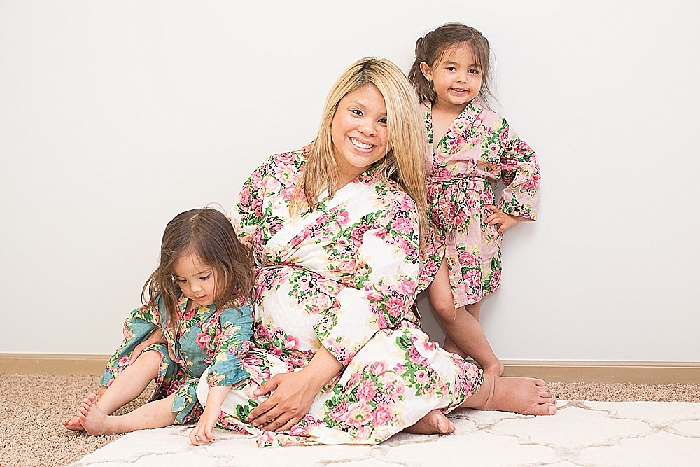 maternity robe for hospital