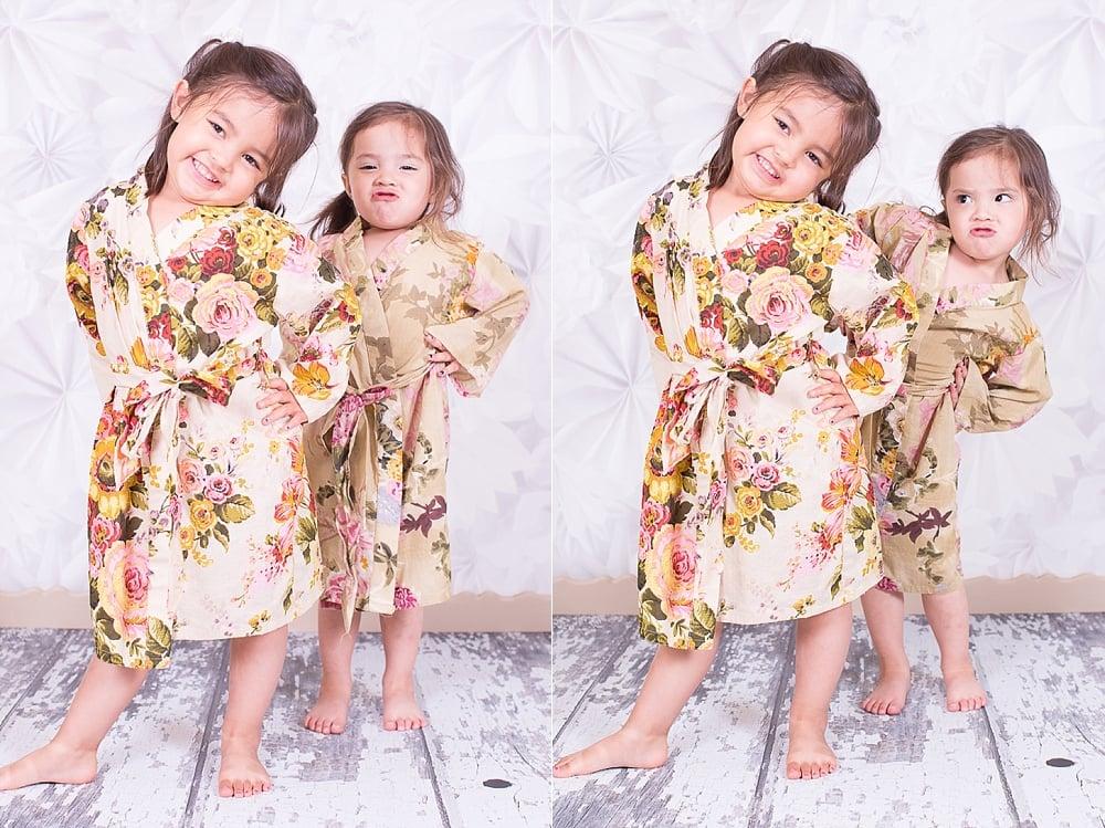 beautiful maternity floral robe_0010
