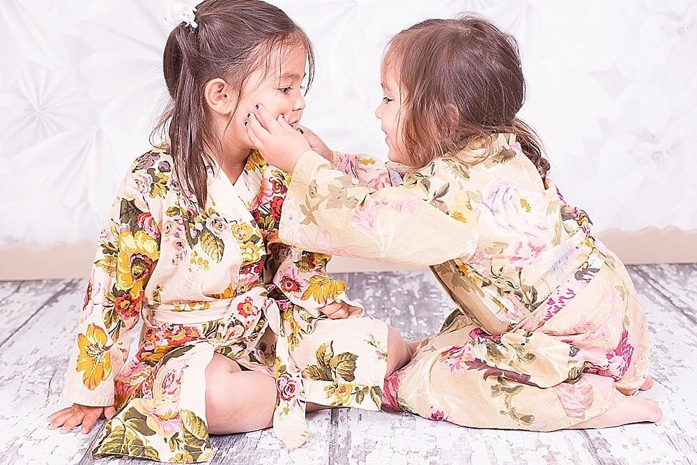 beautiful maternity floral robe_0011