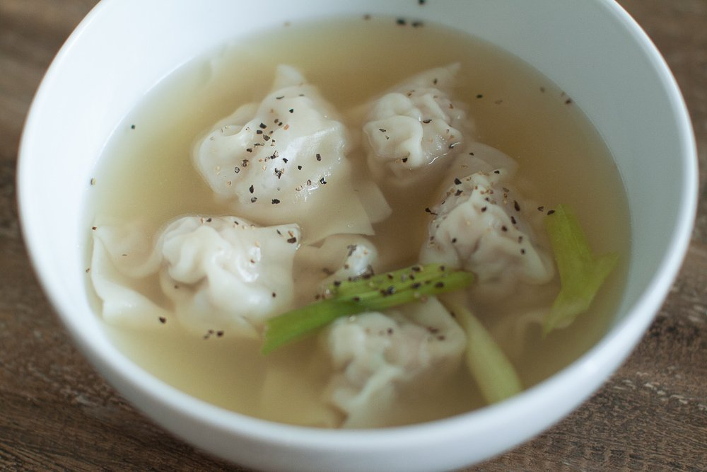 best simple wonton recipe ever how to make wonton soup   Easy Wonton Soup Recipe featured by top US food blogger, Sengerson