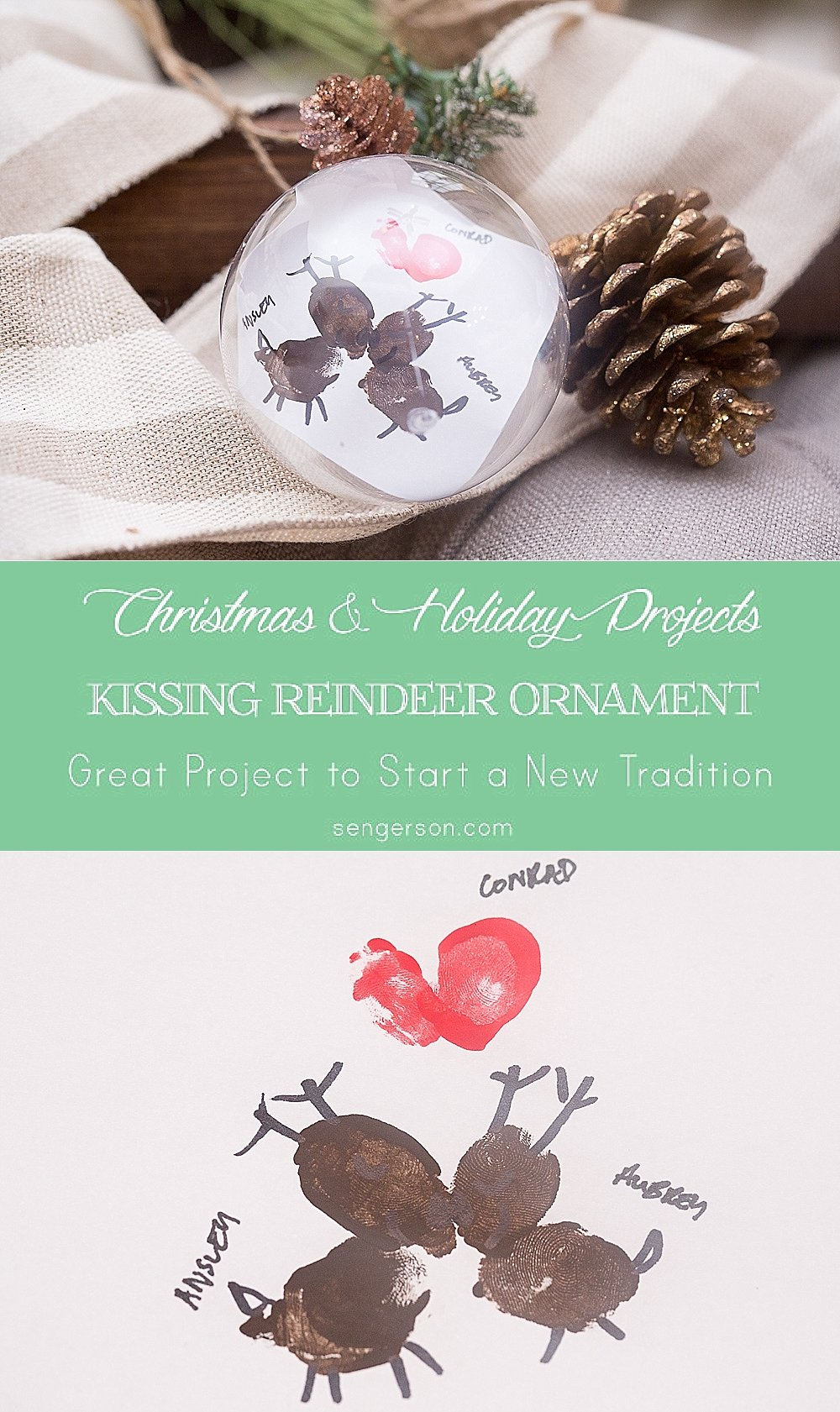 kissing reindeer ornament project_0002