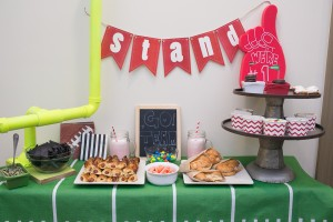 Football Big Game Tablescape