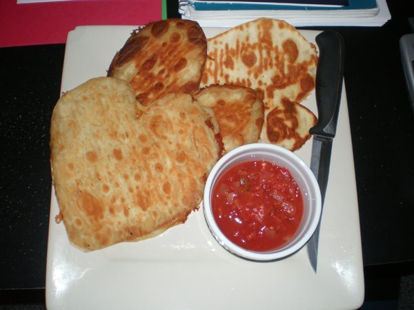 2010 valentines day meal