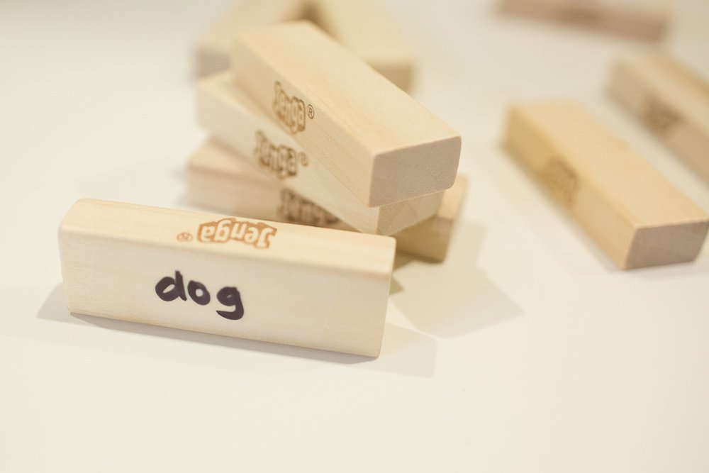 jenga with a twist with kids and sight words sengerson 0002