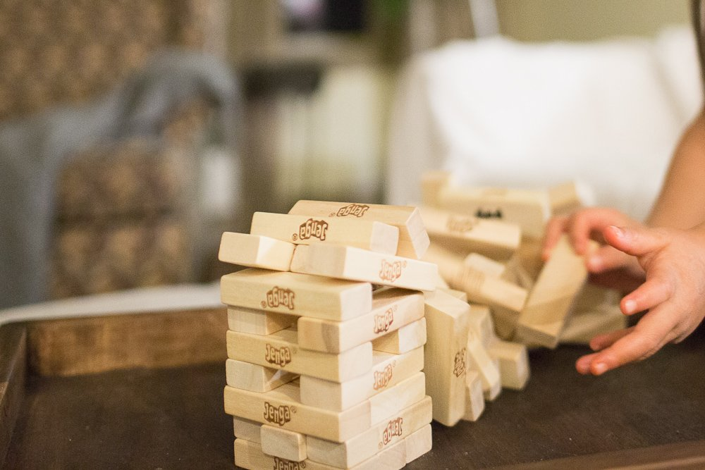 jenga with a twist with kids and sight words sengerson 0022