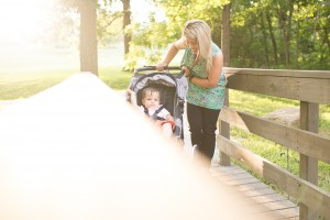 "Baby Jogging Stroller + 5 ""Me"" Time Tips for Mom"