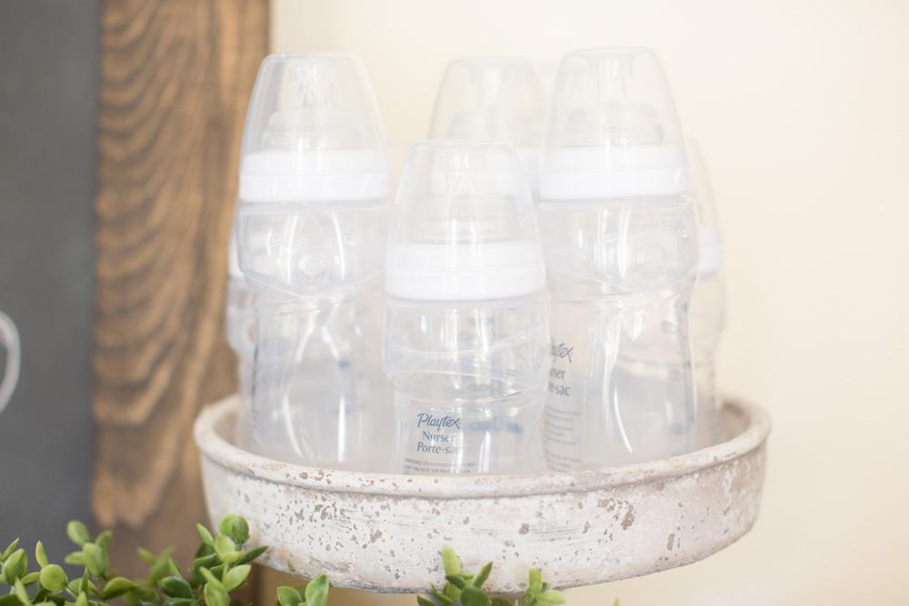 baby shower bottle cake