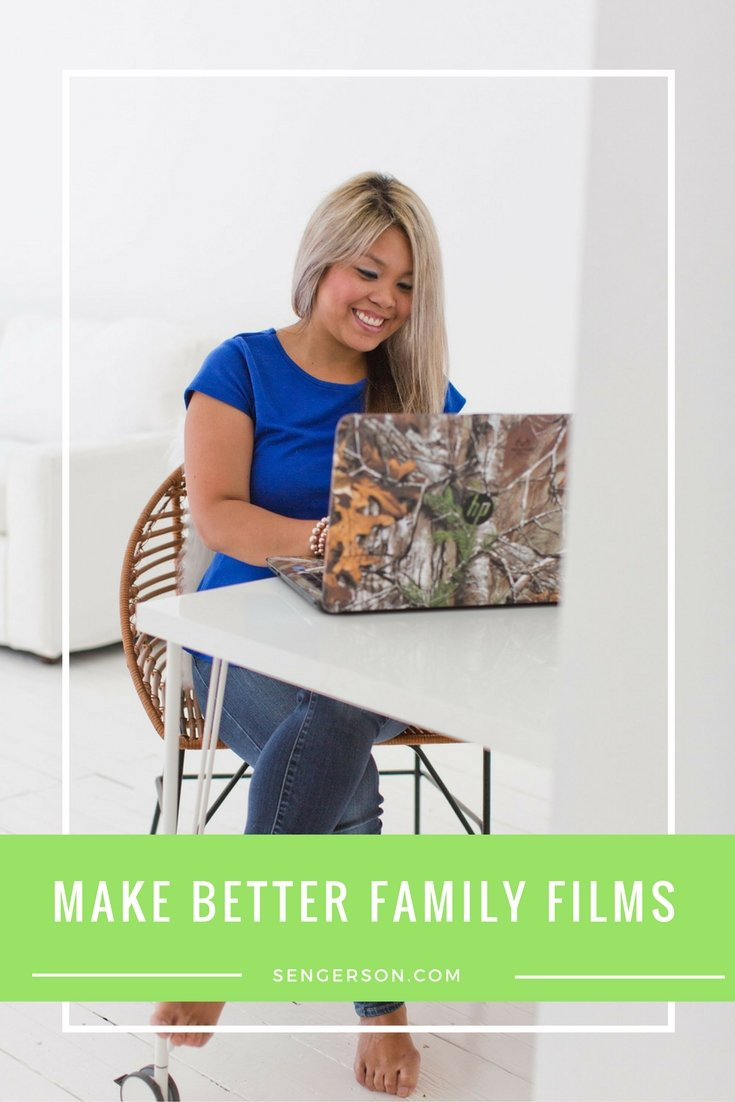 make better home movies