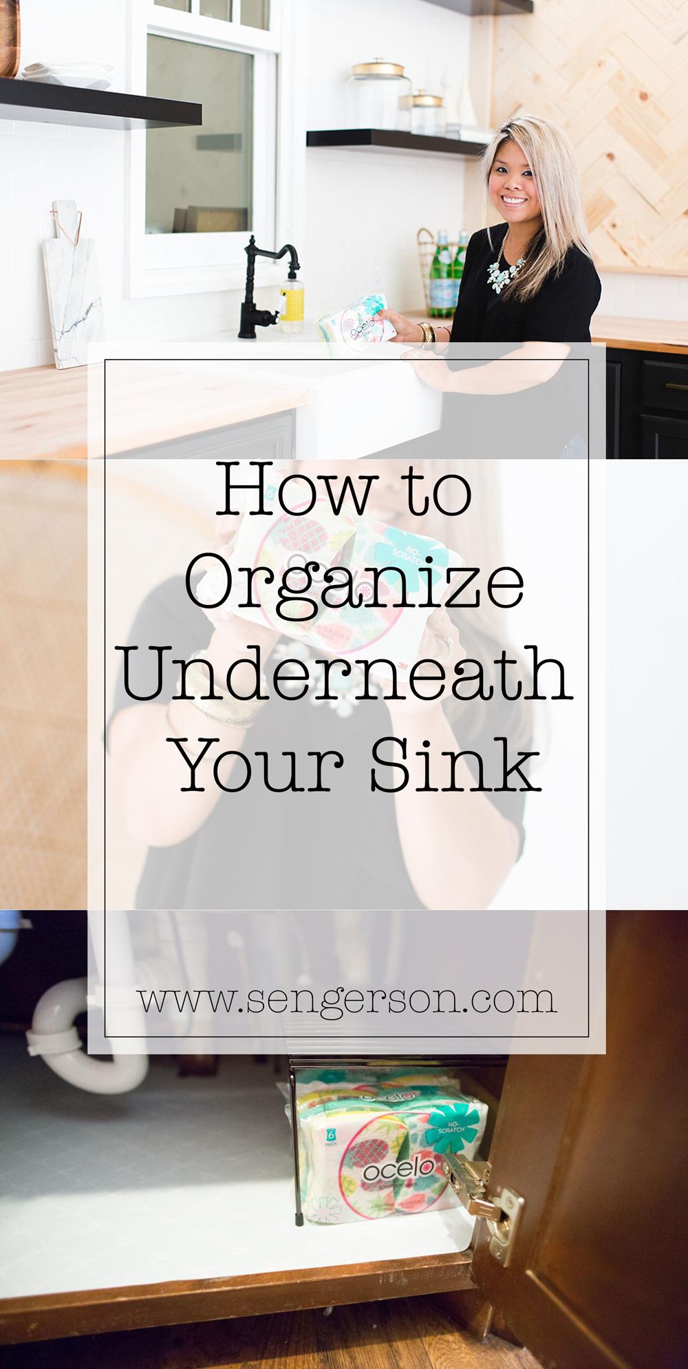 organize under the sink