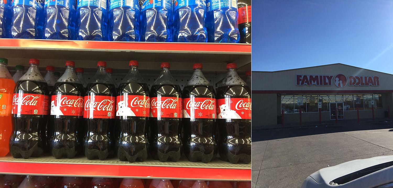 family dollar coca cola